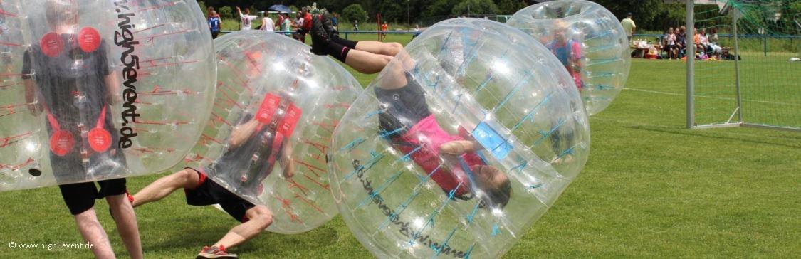 Banner Bubble Soccer