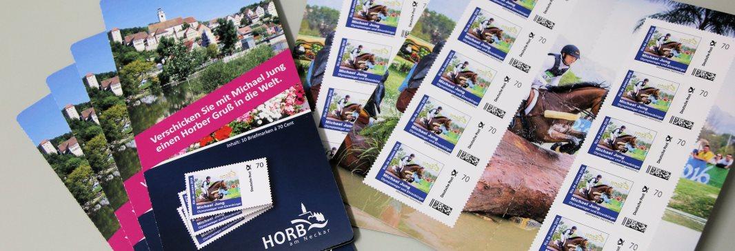 Horbs Briefmarke von Michael Jung