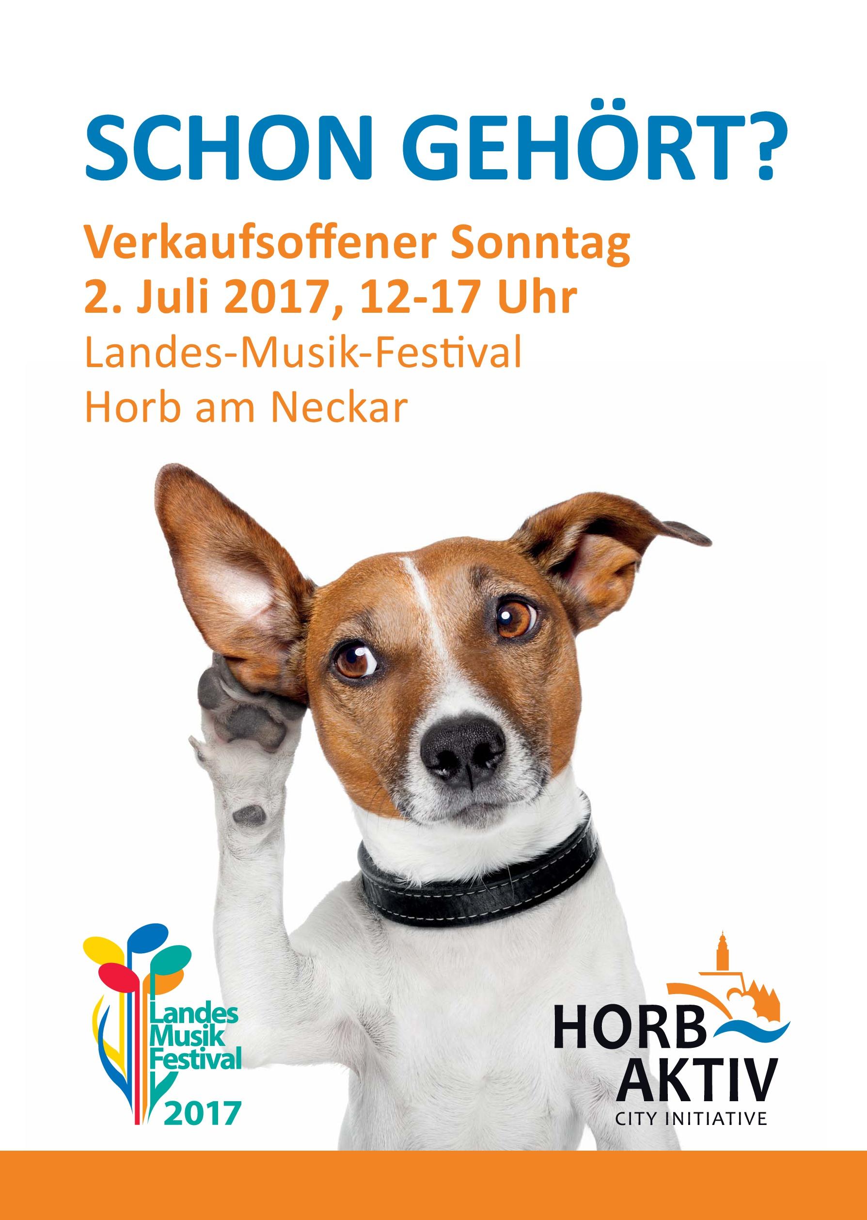 Plakat Horb Aktiv