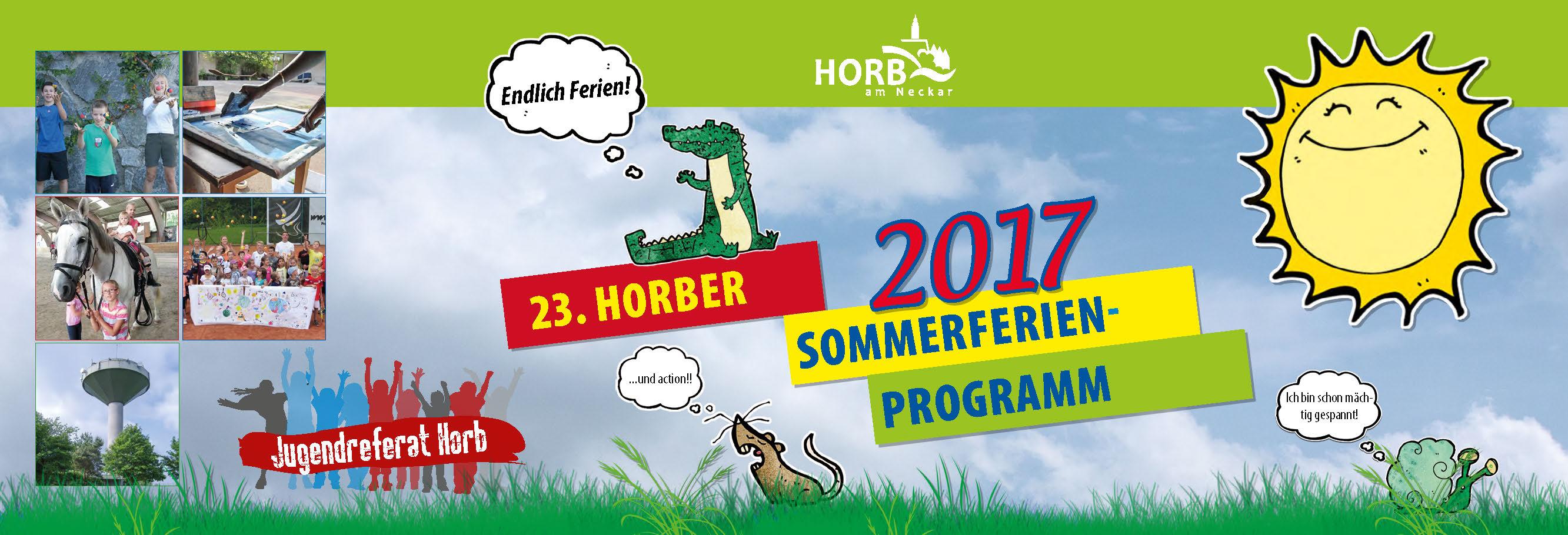Sommerferienprogramm 2017 jetzt anmelden