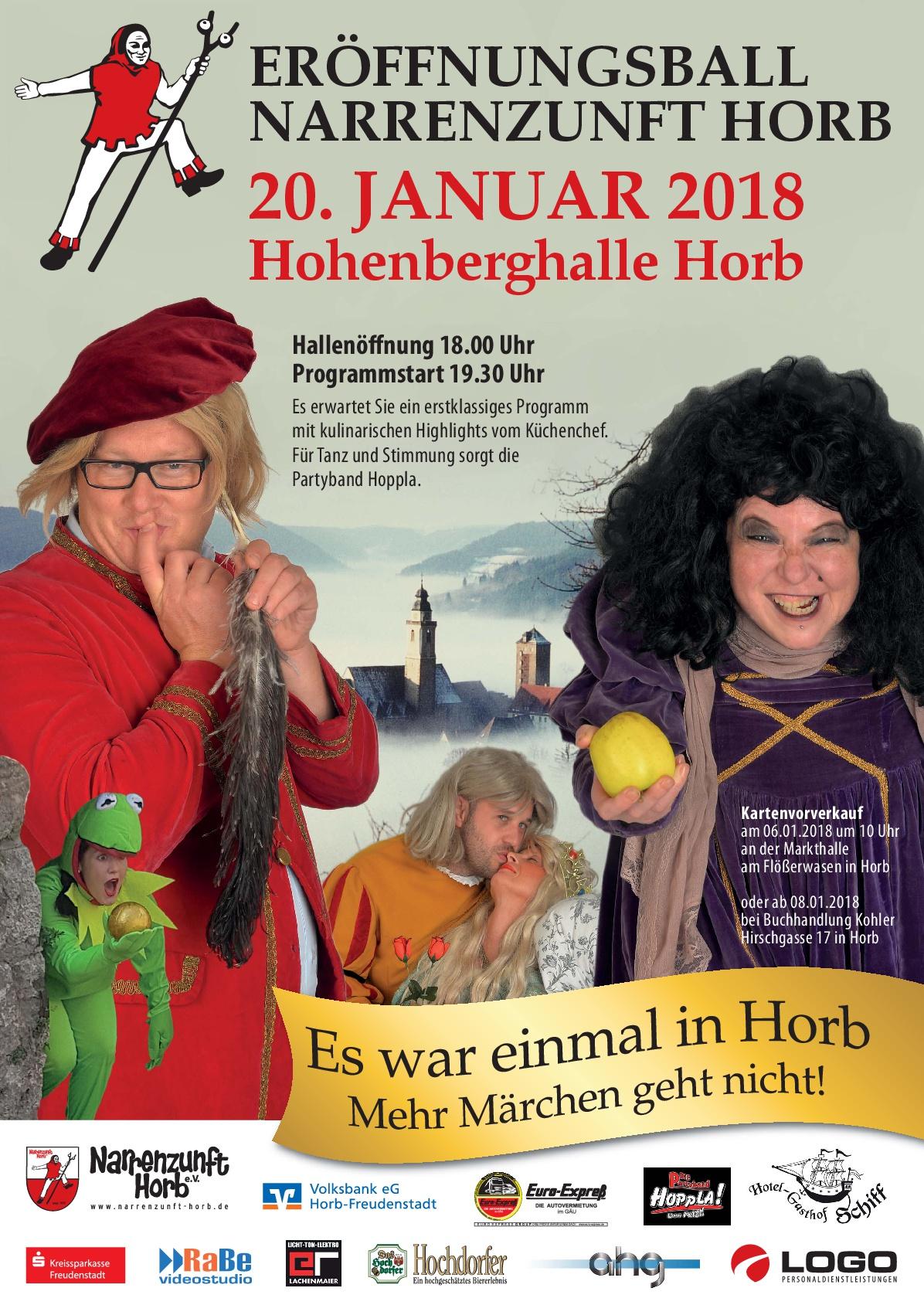 Eröffnungsball Horb 2018