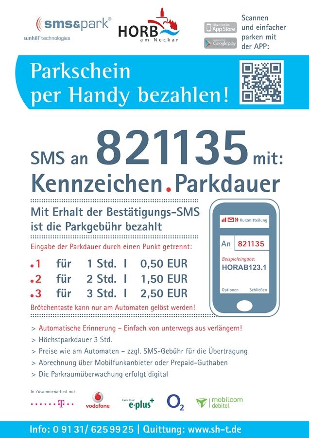 SMS-Parken Zone 1