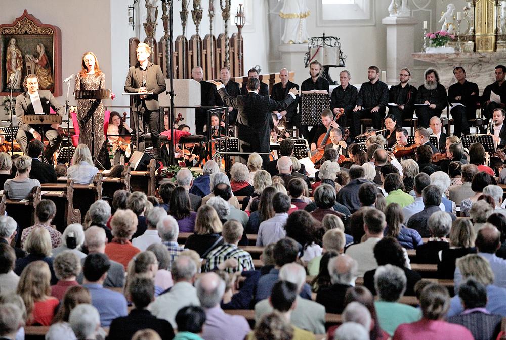 Konzert in der Stiftskirche Peter Pan  Horb9.5.2016.Bild: Kuball