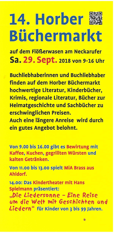 Büchermarkt 2018