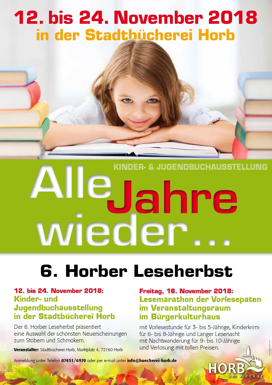 6. Horber Leseherbst