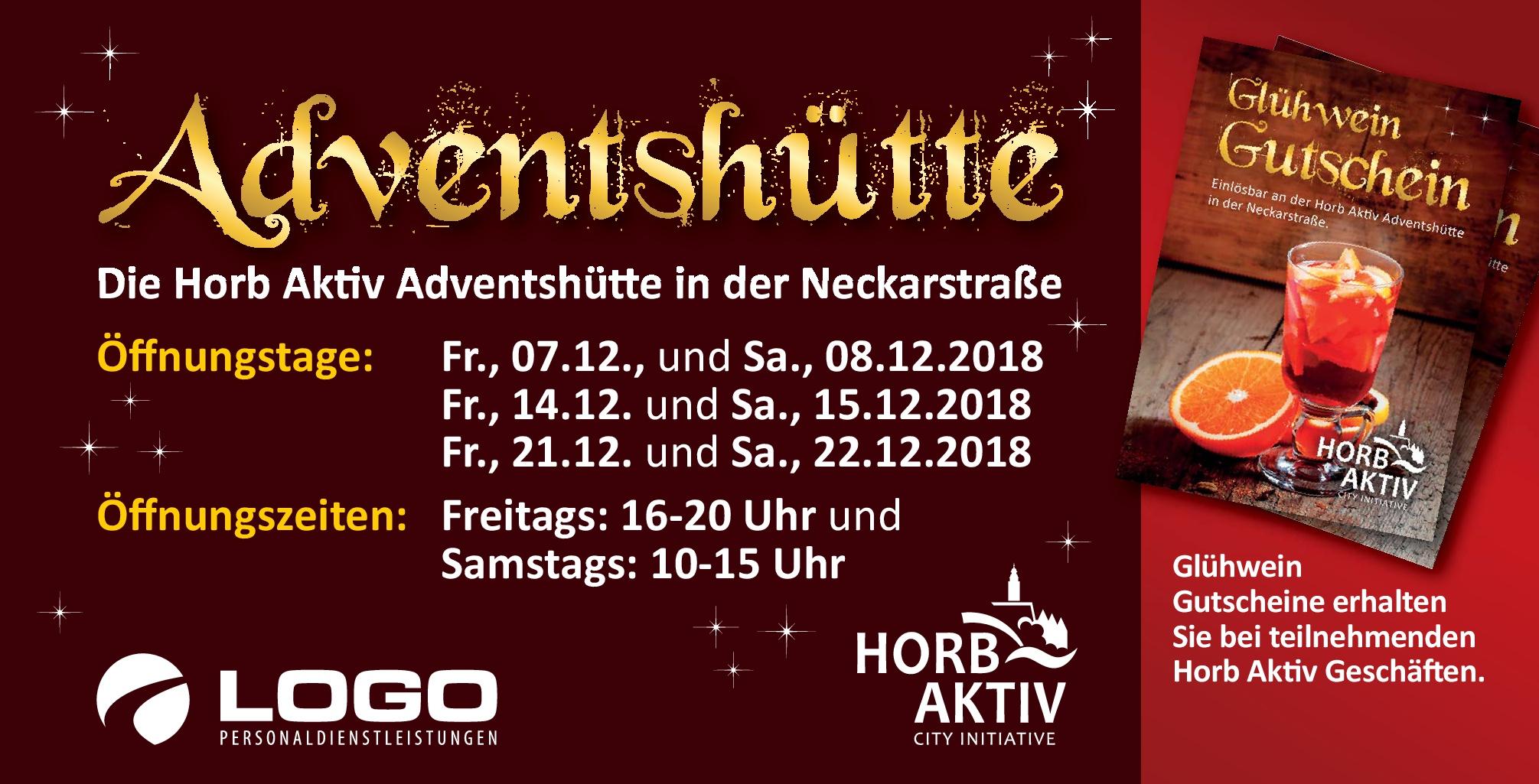 Adventshütte Horb Aktiv 2018
