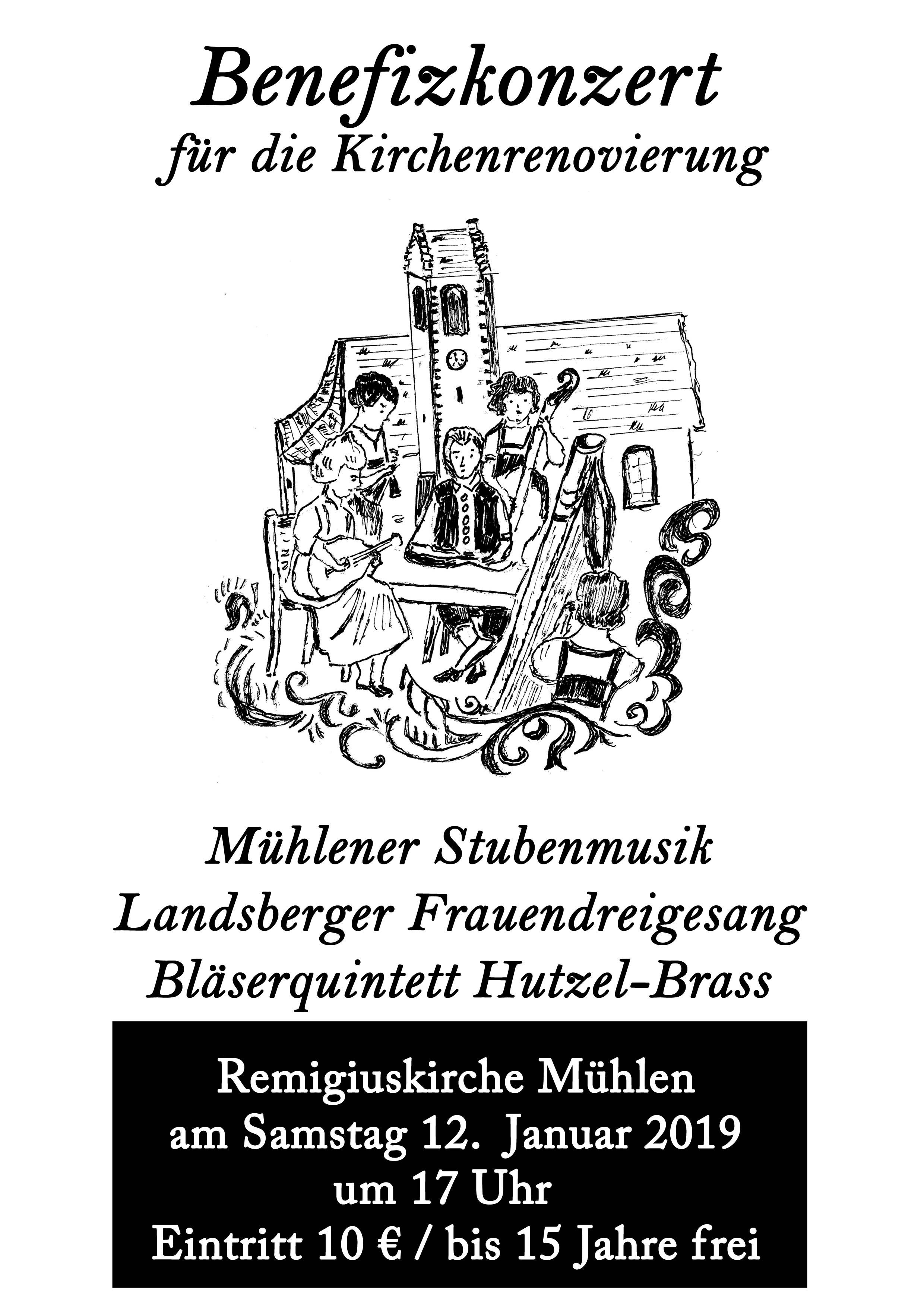 Benefizkonzert Mühlen
