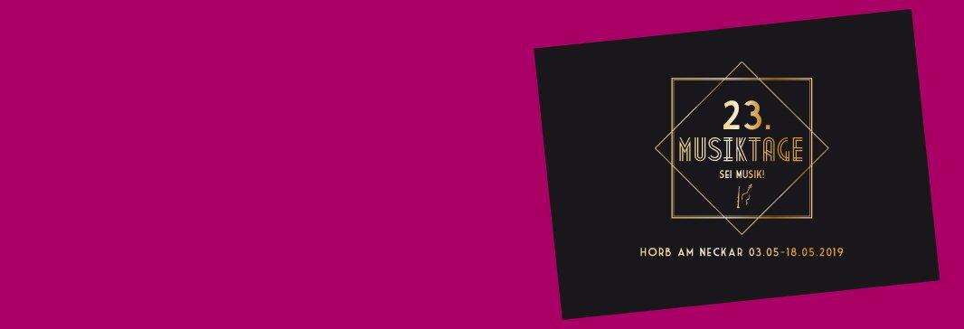 23. Musiktage Horb