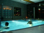 Candle Light Schwimmen im Neckarbad