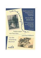 Plakat Schenkung Wochner