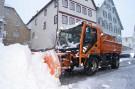 Winterdienst der Stadt Horb arbeitet auf Hochtouren