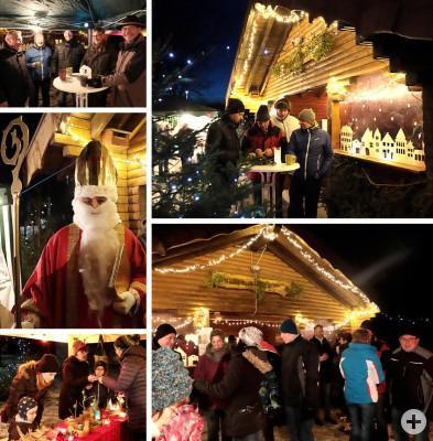 Weihnachtsmarkt an der Waldblickhütte (c) Kuball
