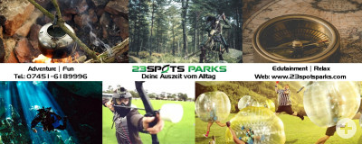 23Spots Parks - Deine Auszeit vom Alltag