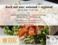 Flyer Kochkurs Jugendgemeinderat