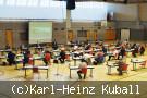 Gemeinderat tagt in Hohenberghalle.