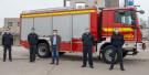 Fahrzeugübergabe Rüstwagen der Feuerwehr