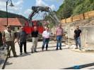 Baustellenbesichtigung Haiterbacher Steige in Talheim