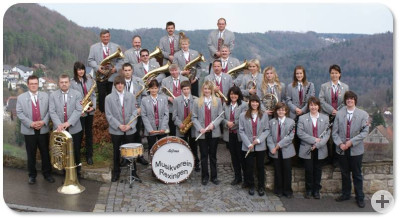 Der Musikverein im Jahr 2010