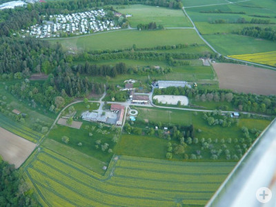 Luftaufnahme RvH Gelände