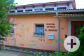 Kindergarten Dettingen Ansicht Eingangsbereich