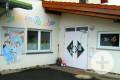 Kindergarten Dießen Ansicht Eingangsbereich