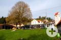 Kindergarten Rasselbande Talheim Ansicht Garten