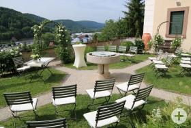 Trauung im Weißen Garten Horb