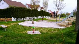 Nordstetten Spielplatz Kletterpark