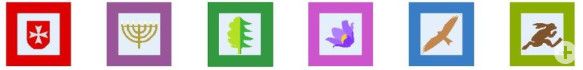 Rexinger Themenweg Piktogramme