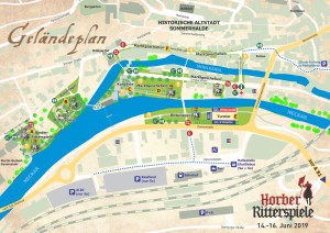 Geländeplan Ritterspiele 2019