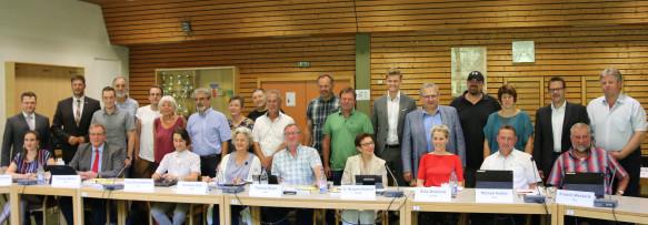 Gemeinderat der Amtsperiode 2019 - 2024
