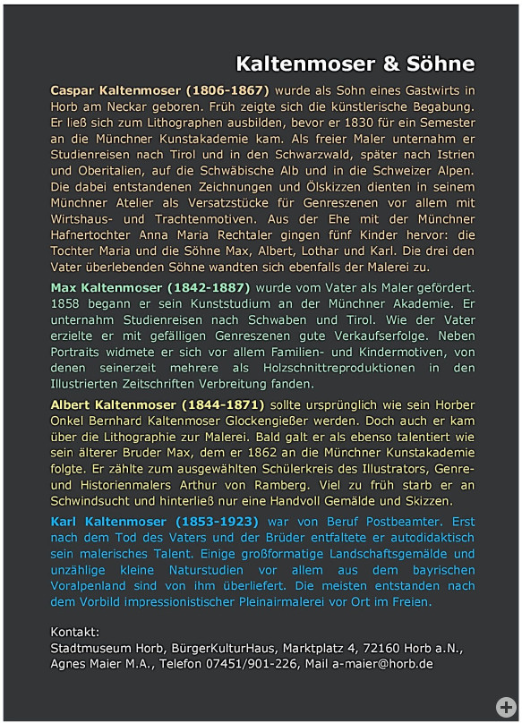 Kaltenmoser Text
