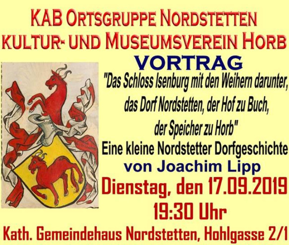 Vortrag Kultur- und Museumsverein