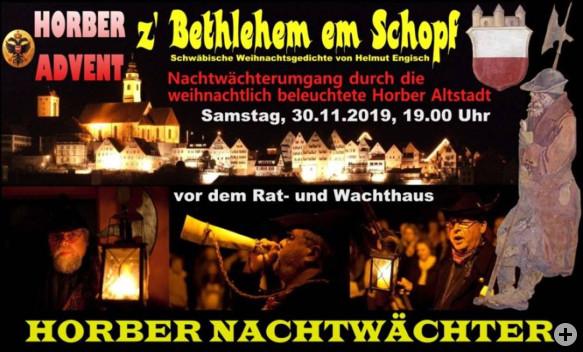 Nachtwächterführung Horber Advent