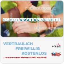 Flyer zur Schulsozialarbeit