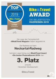 BikeTravel_Auszeichnung