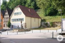 Bauplatz Altheimer Straße Leonhardsbrunnen