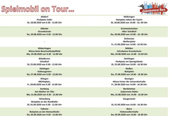 Spielmobil on Tour