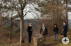 Friedensbaum_Gemeinsames Gedenken nach 30 Jahren