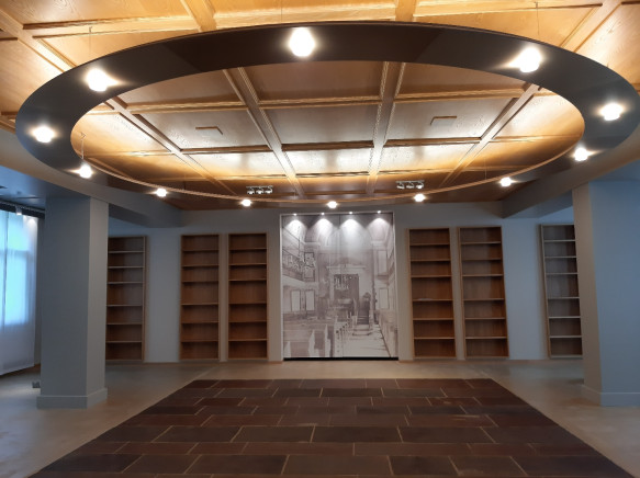 Synagoge Rexingen innen Bibliothek