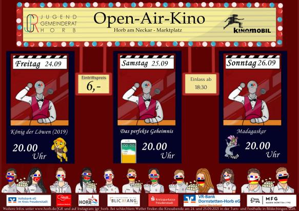 Open Air Kino Jugendgemeinderat