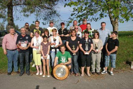 Sieger Vereinspokalschießen 2012