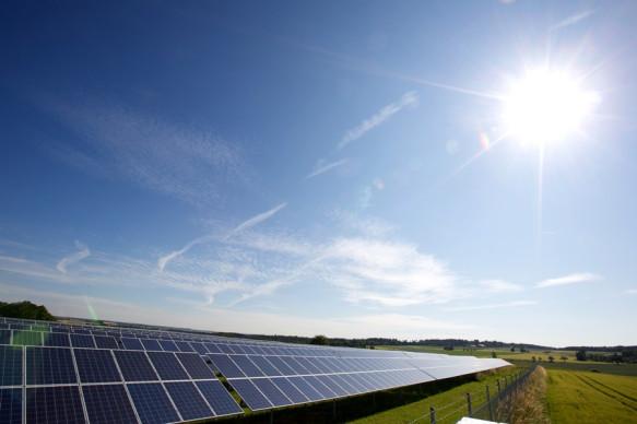 Der Solarpark Reute im Horber Ortsteil Nordstetten ist der größte Solarpark im Landkreis Freudenstadt.
