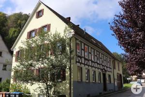 Geburtsstätte des Malers Caspar Kaltenmoser