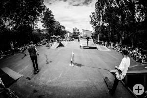 Spektakuläre Sprünge und coole Tricks garantiert der Funpark am Marmorwerk. Foto: David Sattler